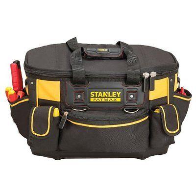 Stanley FMST1-70749 FatMax Round Top Rigid Tool Bag with Waterproof Base New