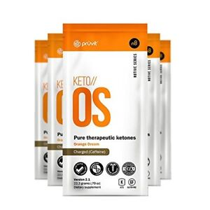 Keto OS  15 packets charged w/ caffene