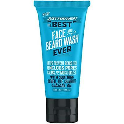 Just For Men The Best Face And Beard Wash Ever 3.4 Fluid (Best Face Wash For Adults)