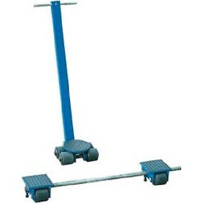 New Vestil Steerable Machinery Moving Skate Roller Kits 6 Ton Capacity