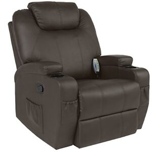 Fauteuil inclinable massage presque neuf