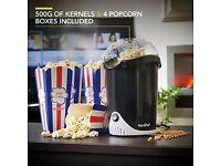 VonShef Fat-Free Hot Air Popcorn Maker / Popcorn Machine.............Brand New Enjoy home