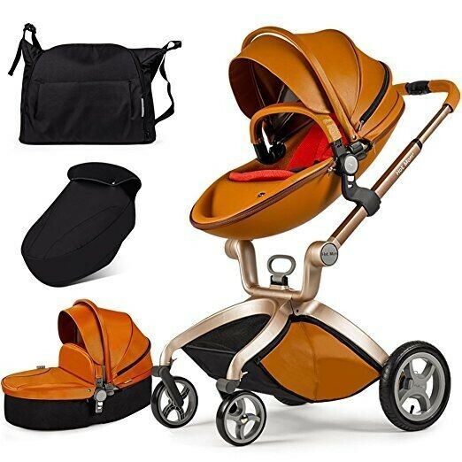 BRAND NEW Hot Mom 2 in 1 Baby Stroller Brown (unopened box)