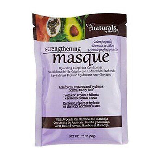 Hask Strengthening Masque Hydrate Restore Hair Deep Conditio