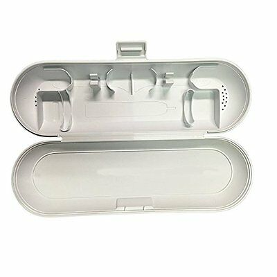 Toothbrush Travel Case for Philips Sonicare  Electric Toothbrushes (WHITE)