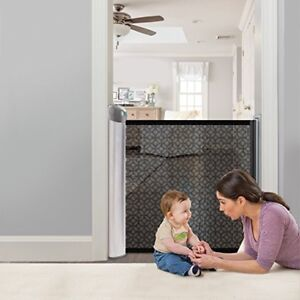 New Summer Infant Retractable Gate, Charcoal Grey