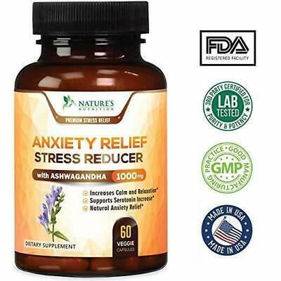 Vitaminas Para El Estrés Y Ansiedad Controla Reduce Estrés Stress Relief Pills
