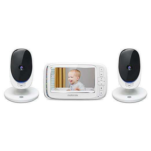 "Motorola Comfort 50-2 Video Baby Monitor 5"" LCD Color Displa"
