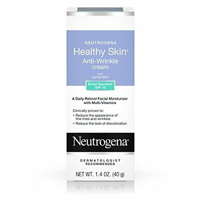 Neutrogena Healthy Skin Anti-Wrinkle Cream with Retinol & SPF 15 Sunscreen, Oil-