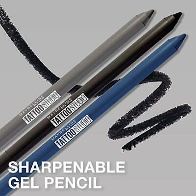 (1) Maybelline Tattoo Studio Waterproof Liner Sharpenable Gel Pencil, You Choose