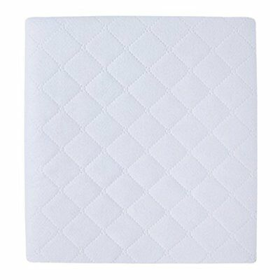 "Carter's 2 Piece Protector Pad, Solid White, One Size 18""x27"""