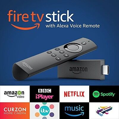 Amazon Fire TV Stick with Alexa Voice Remote Full HD Streaming Media Player