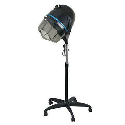Professional Adjustable 1300W Hooded Floor Hair Bonnet Dryer Stand Up W/Wheels