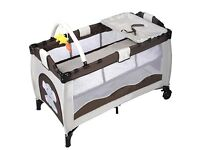 Cotsway portable travel cot/play pen