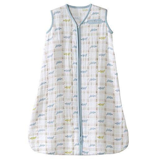 100 percent cotton muslin sleepsack wearable blanket