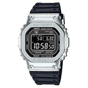NEW G-Shock GMW-B5000-1 Stainless Steel with Resin Band