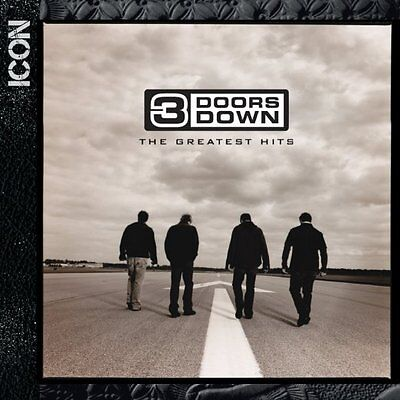 3 DOORS DOWN CD - ICON: THE GREATEST HITS (2015) - NEW UNOPENED - ROCK (Down Icon)