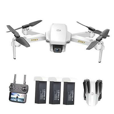 S161 Mini Pro Drone, FPV Drone with 4K HD Camera, Foldable RC Quadcopter with