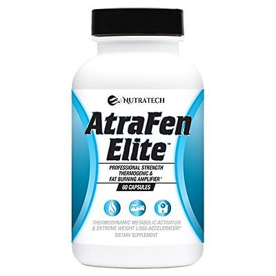 Atrafen Elite – Professional Formula Fat Burner Diet Pill and Thermogenic