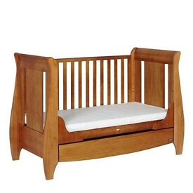 "2x cots available (twins), ""like new"" in original packaging ready to go"