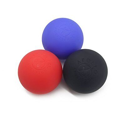 3 Pack Lacrosse Ball Massagers  Firm  Med Firm And X Firm   Massage Balls