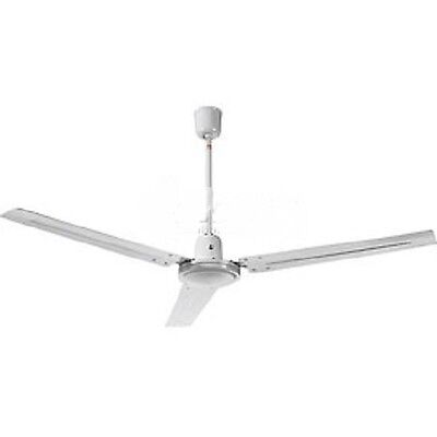 New Industrial Ceiling Fan White 56 Inch With Controller
