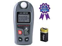 Light Meter, Quirrel Digital Light / Lux Flash Meter NEW