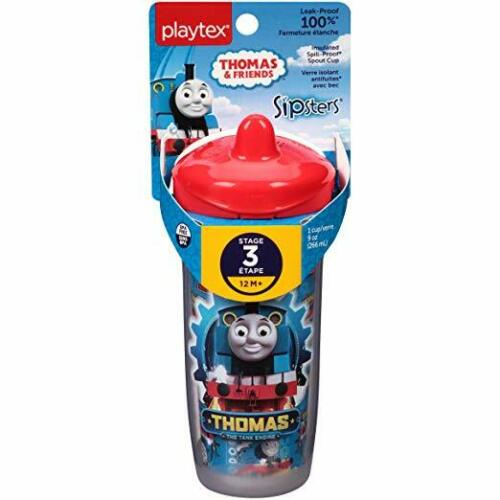 Playtex Sipsters Stage 3 Thomas the Train Spill-Proof Sippy Cup, 9 Oz