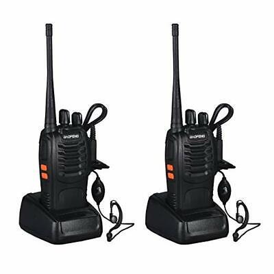 2x BAOFENG BF-888S RICETRASMITTENTE PMR RADIO UHF 400-470 MHz WALKIE TALKIE DS