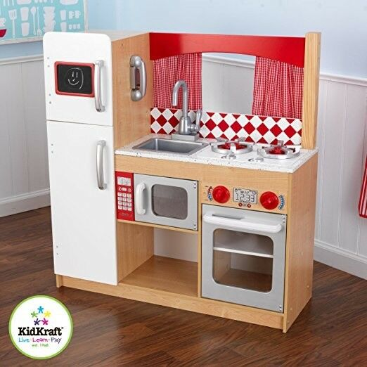 Gorgeous Wooden Play Kitchen by Kidkraft - £80 (RRP £160)