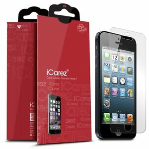 iCarez Premium [HD Clear] Screen Protector Apple iPhone 5S 3x