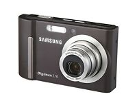 Samsung Digimax L70 7.2 MP Digital Camera - Black