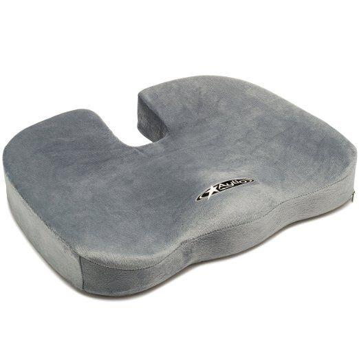 Aylio Coccyx Orthopedic Comfort Foam Seat Cushion  Aylio