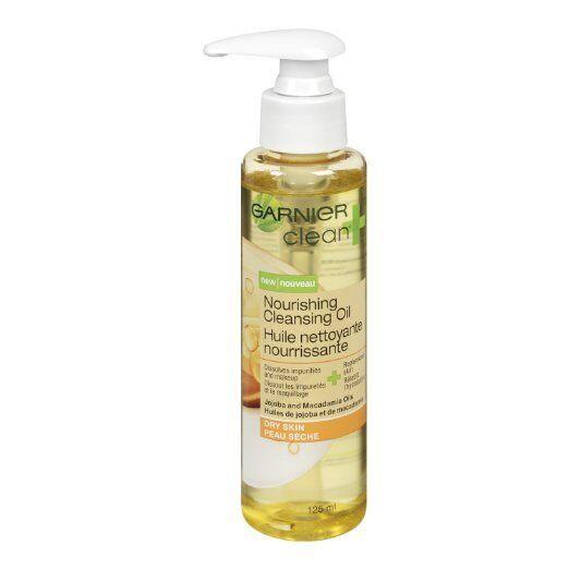 Garnier Clean Cleansing Oil Nourishing 4.2oz Pump