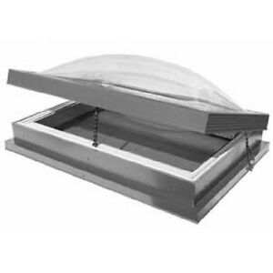 New Velux Roof Hatch Skylight Clear Clear Acrylic Dome 37