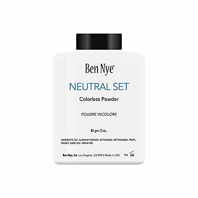 Ben Nye Neutral Set Colorless Face Powder 3 oz