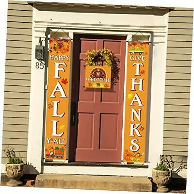 Happy Thanksgiving Day Decorations,3 Pieces Fall Harvest Pumpkin Turkey Maple L