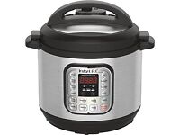 Brand new, unused in sealed box Intant Pot, Programmble Pressure Cooker, 8 litre capacity .