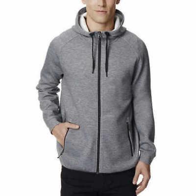 NEW 32 Degrees Heat Men's Full Zip Tech Fleece Hoodie Jacket Sweatshirt Ht GRY M (Tech Hoodie Sweatshirt)