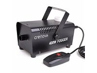 Fog Machine BRAND NEW with 1L high quality liquid smoke (£35) Remote Control Crenova FM-02 400W