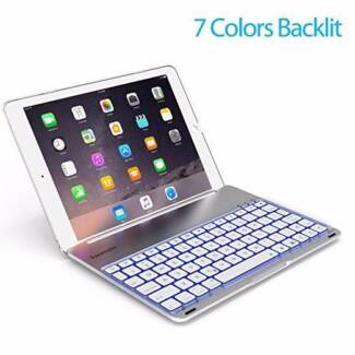Keyboard Case for iPad PRO 9.7 Inch / iPad Air 2-LED 7 Colors
