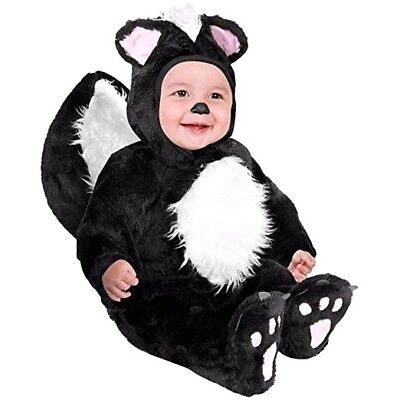 Dream Weavers Baby/Infant Lil' Stinker Skunk Dress Up Halloween Costume - 3-9m