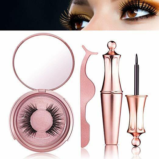 Magnetic False Eyelashes Natural Eye Lashes Extension Liquid