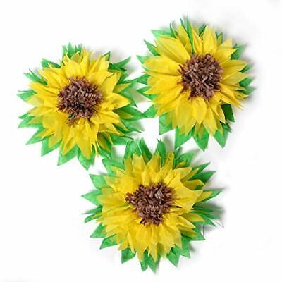 Sunflower Party Supplies (Sunflower Party Decoration Summer Birthday baby Bridal Shower table)