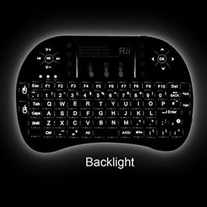 ANDROID PREMIUM REMOTE KEYBOARD TRACKPAD BACKLIGHT