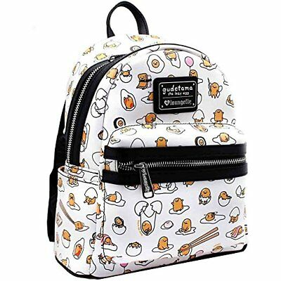 Loungefly Sanrio Hello Kitty Gudetama Lazy Egg Mini Book Bag Backpack GTBK0010