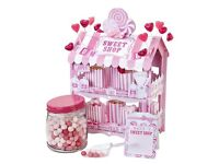 Miniature Cardboard Sweet shop Stand Wedding or kids party