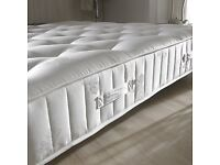 Double bed mattress - 3000 pocket spring firm RRP £290 (6 months old - NEW)