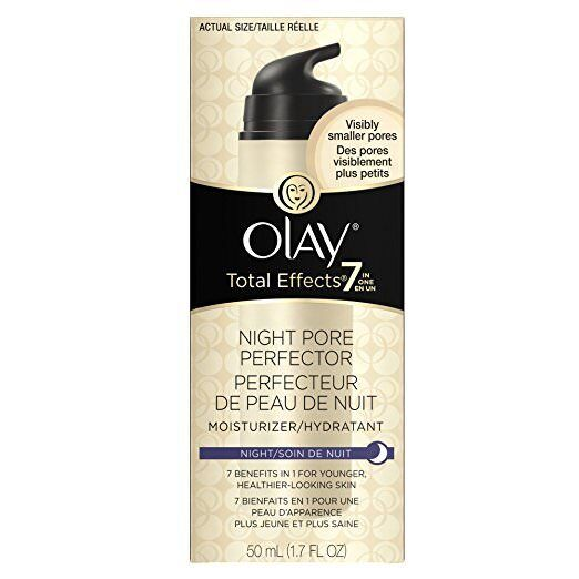 Olay Total Effects Night Pore Perfector Moisturizer, 1.7 fl