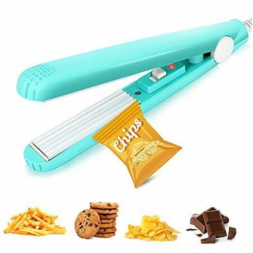 Mini Chip Bag Heat Sealer, Portable Food Sealer, Bag Resealer for Food Mint